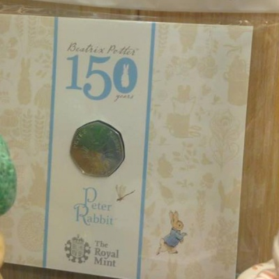 150th 50p Coin Collectors Beatrix Potter Tailor of Gloucester