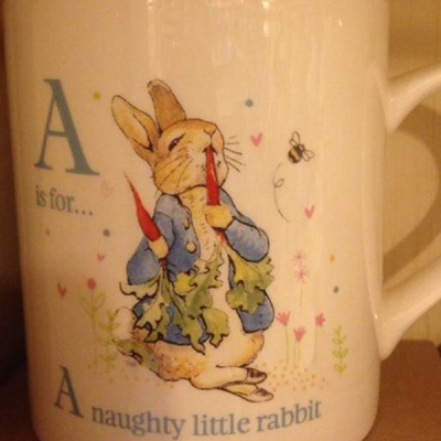 Mug 'A naughty rabbit' Beatrix Potter