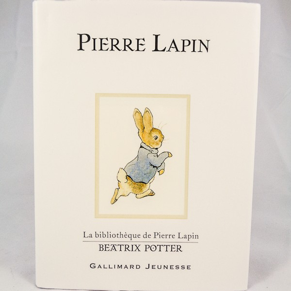 Pierre Lapin (Peter Rabbit in French)