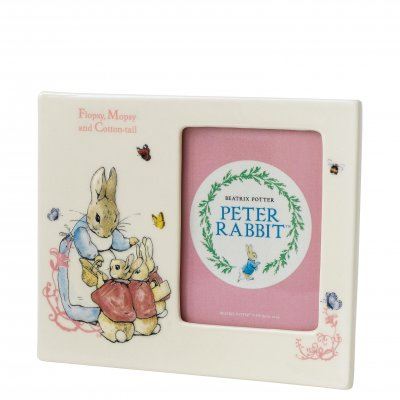 flopsy-mopsy-and-cotton-tail-picture-frame-a26695