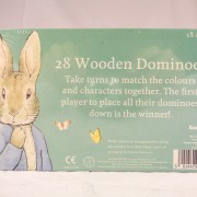 Peter Rabbit Wooden Dominoes Set