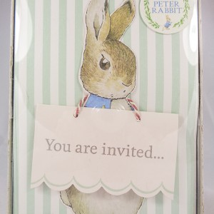 Peter Rabbit Party Invitations & Envelopes