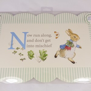 Peter Rabbit Serving Platters