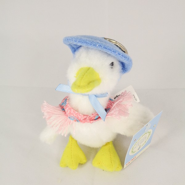 Jemima Puddle-Duck Plush Keyring