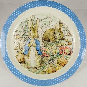 Peter Rabbit & Benjamin Bunny Melamine Plate