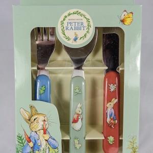 Peter Rabbit Three Piece Cutlery Set