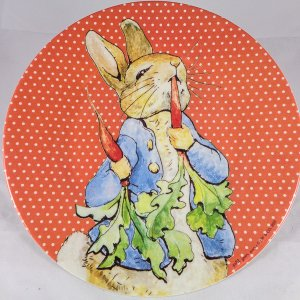 Peter Rabbit Melamine Plate