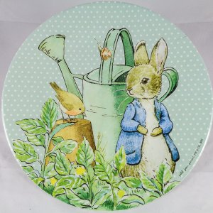 Peter Rabbit & Robin Melamine Plate